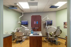 Modern dental office in Dedham