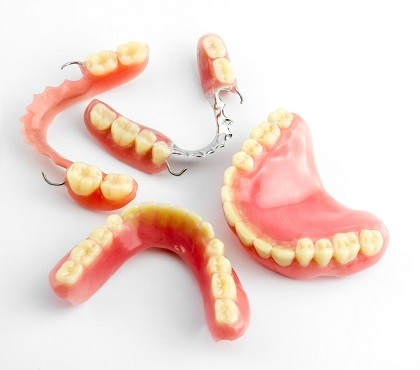 Full and Partial Removable Dentures in Dedham